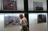 Wystawa zdjęć z Żeglarskiego Pucharu Trójmiasta, fot. Marek Zwierz